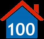 100 huizen project
