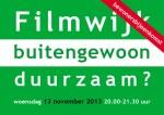 flyer Filmwijk Buitengewoon Duurzaam