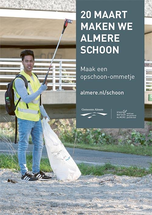 Week van Almere Schoon 2021