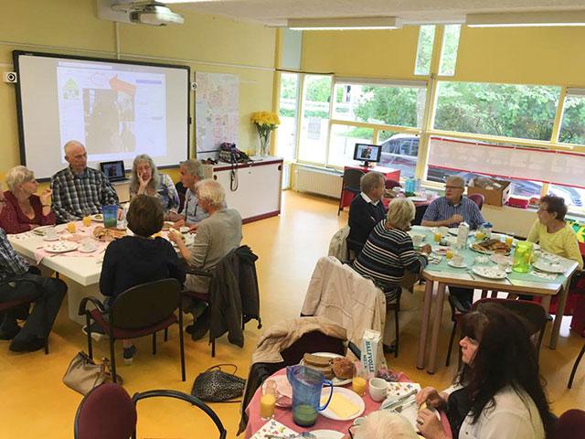 Buurtlokaal FIlmwijk - gezellig samen lunchen
